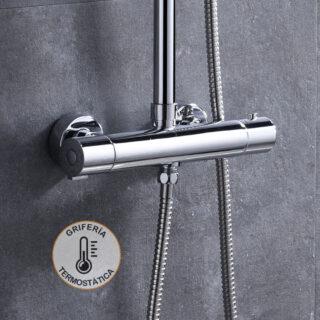 Grifos para columnas ducha